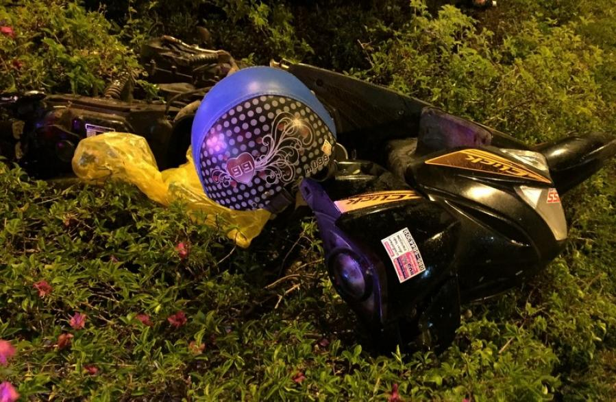 One killed in collision with garbage truck | The Thaiger