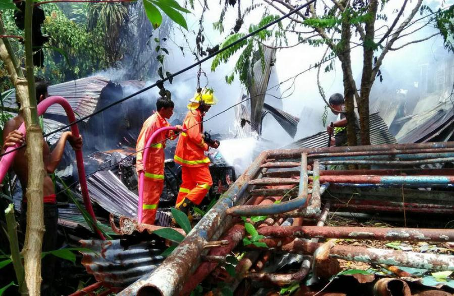 Five houses burned down in two Phuket fires | The Thaiger