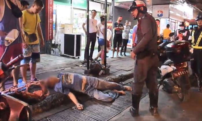 Pattaya taxi driver knocks out foreigner | The Thaiger