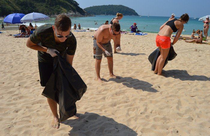 All invited to cleanup Nai Harn Beach today | The Thaiger
