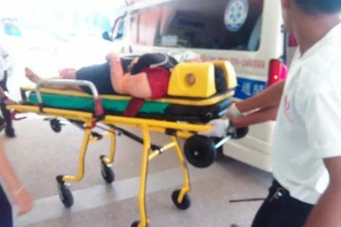 Tourist slashes own throat at Phuket resort | The Thaiger