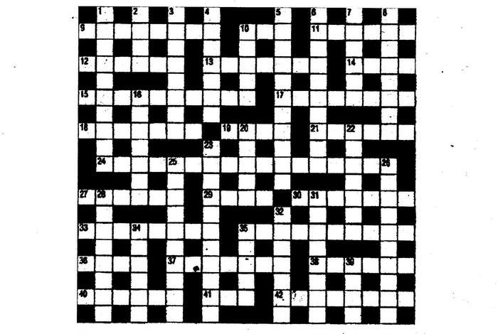Sneak a peek: June 27 Cryptic Crossword answers | The Thaiger