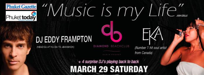 'Music is My Life' party kicks off tomorrow night at Diamond Beach Club [Video] | The Thaiger