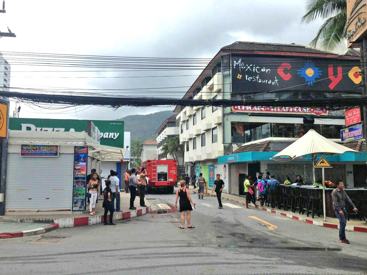 Fire in Patong Mexican restaurant | The Thaiger