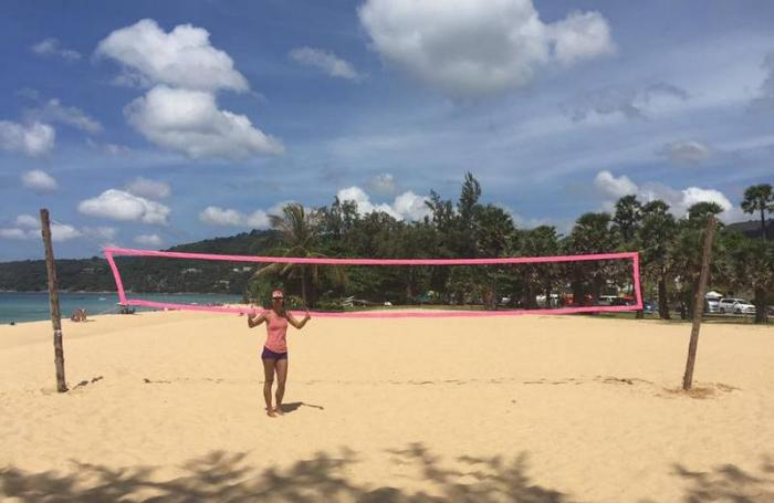 Video report: Volleyball's dream girl gives back to community | The Thaiger