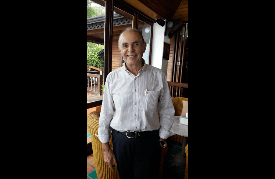 Profile: Georges Ciret – Tales from the wine cellar | The Thaiger