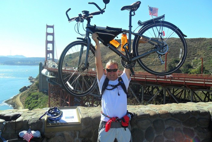 Blazing Saddles: Rudy rides against cancer in global cycling tour | The Thaiger