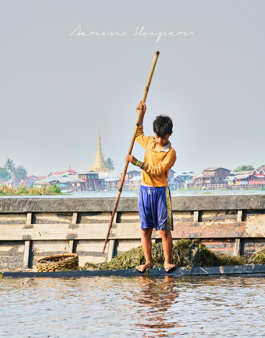 Hooper Trips Asia: Inle Lake Boy, Inle Lake, Myanmar | The Thaiger