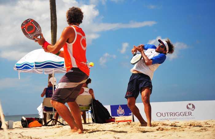 Italy-Brazil duo win ITF beach tennis tourney in Phuket | Thaiger