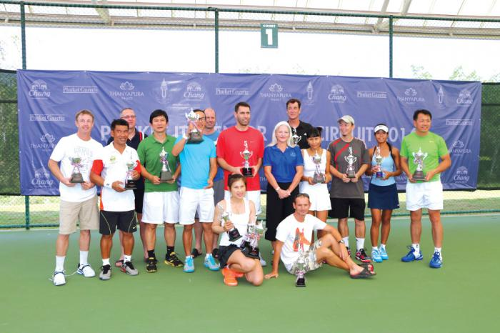 Video Report: ITF Seniors Tennis tournament at Thanyapura a success | Thaiger