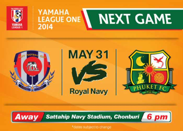 Phuket FC take on the Navy TC | The Thaiger