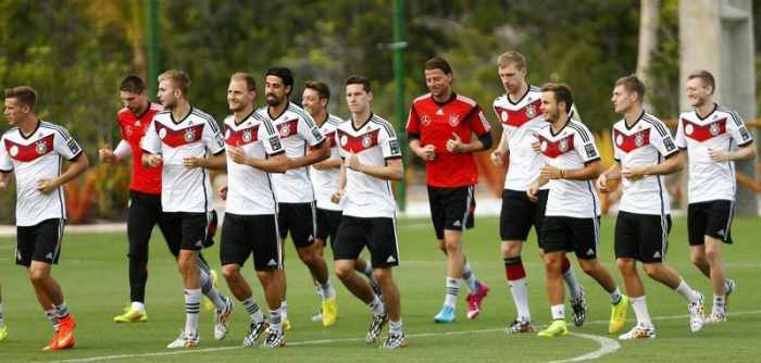 Argentina and Germany start final preparations | Thaiger