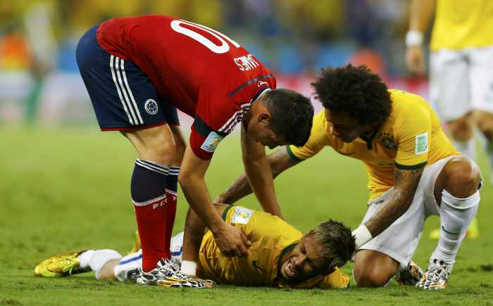 World Cup: Neymar out of Cup as Brazil and Germany make semis | Thaiger