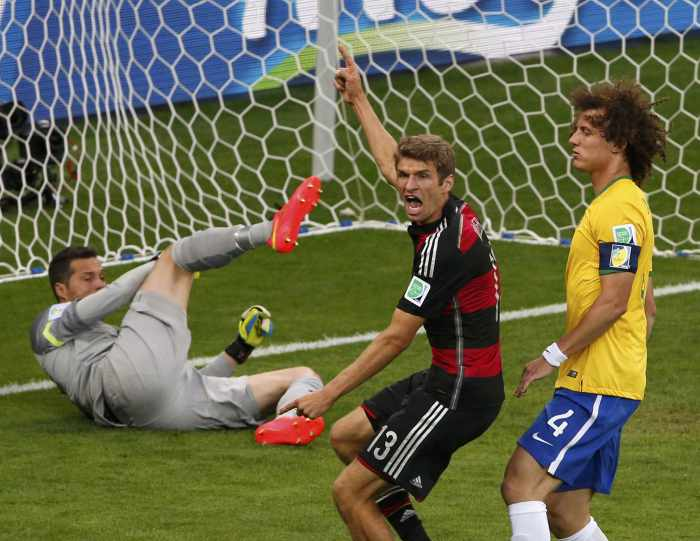Ruthless Germany stun the world with rout of Brazil | Thaiger