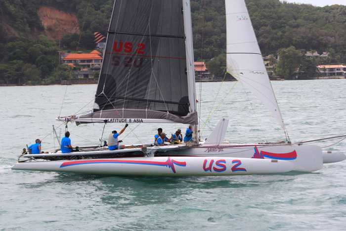 Adrenaline takes the win at Sunday's ACYC race | The Thaiger