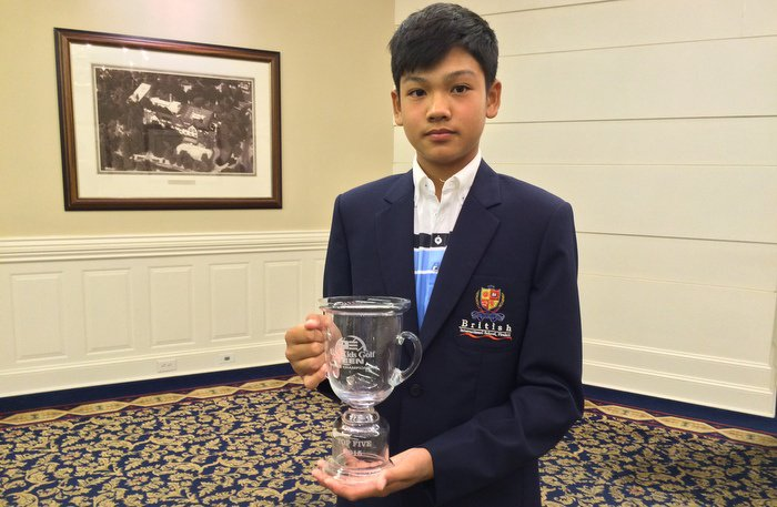 BISP student takes 3rd at golf Teen World Championship | The Thaiger