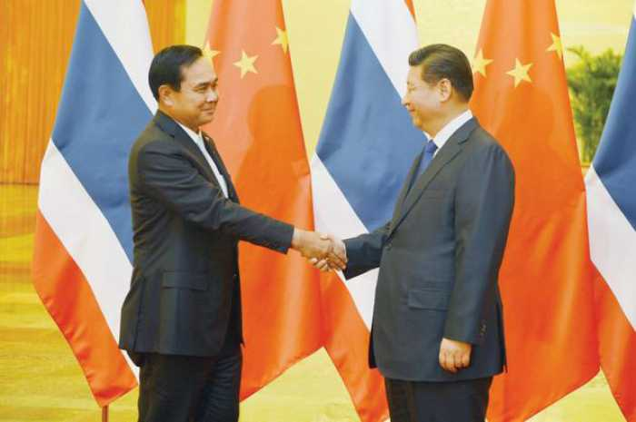 PM backs China's road and rail plans   The Thaiger