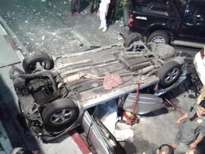 Brakes not to blame for fatal car plunge from Bangkok mall car park: expert | The Thaiger