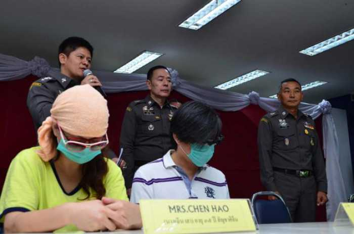 Chinese pair arrested over big pyramid fraud   The Thaiger