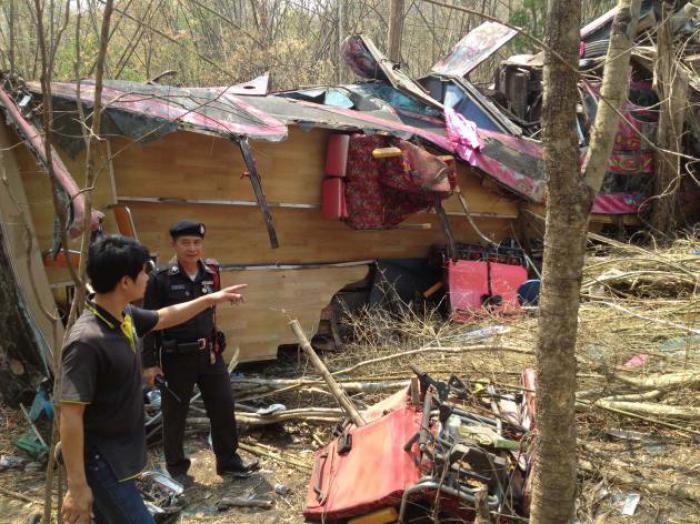 Phuket Gazette Thailand News: Bus ravine plunge leaves dozens dead; Grenades rock Bangkok; NSC chief gets his job back | The Thaiger