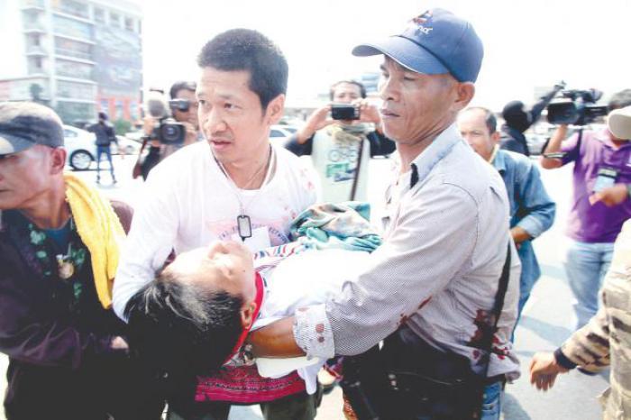Phuket Gazette Thailand News: Gunfire slays protester; Min Buri bomber identified; Military urges Songkran talks; PM calls witnesses in graft probe   The Thaiger