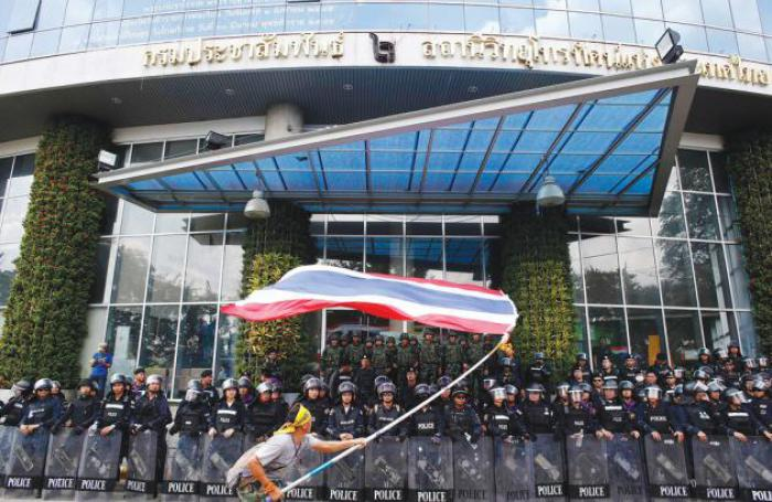 Thailand News: TV stations occupied, fears of clashes rise; July 20 poll in doubt; Sacred oxen predict a good year   Thaiger