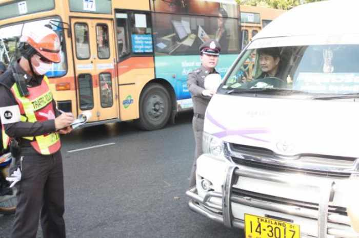 Motorists violating road laws face harsher action | The Thaiger
