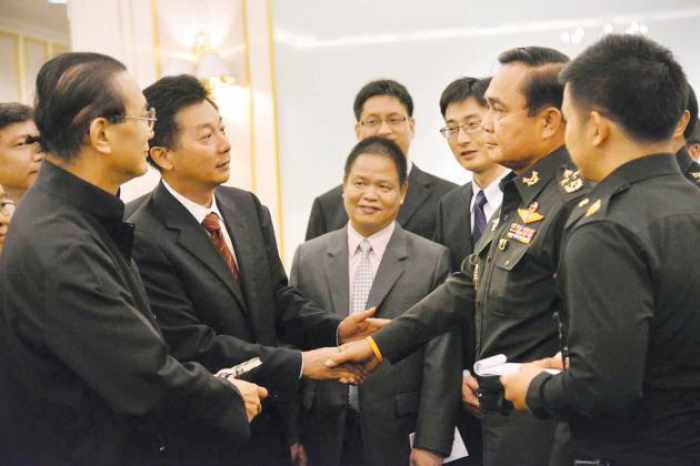 Junta woos Chinese; vows interim government within three months   The Thaiger