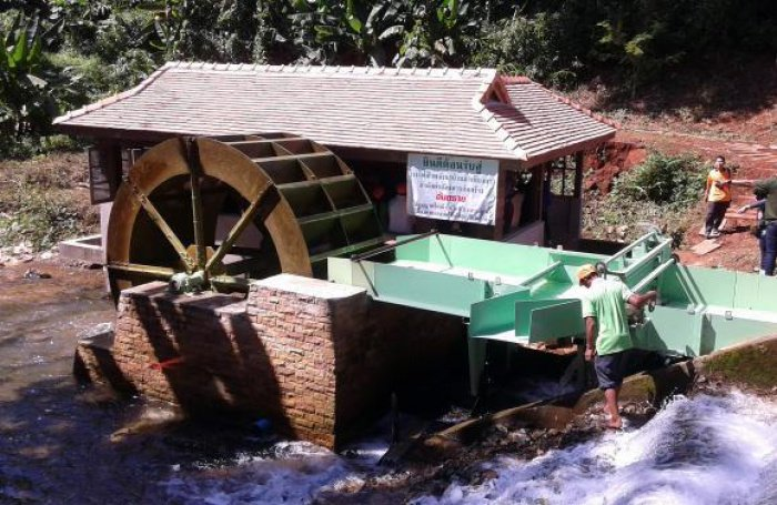 Educator dreams up hydropower plant | The Thaiger