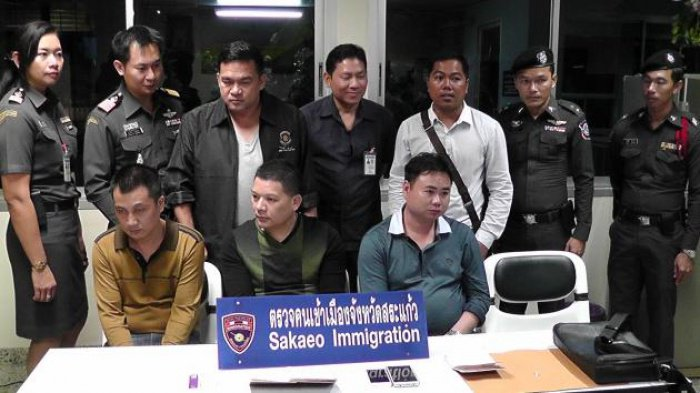 Suspected Chinese diamond robbers arrested | The Thaiger