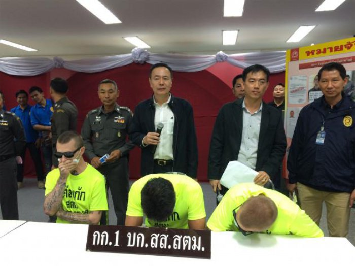 Immigration police round up foreign fugitives | Thaiger