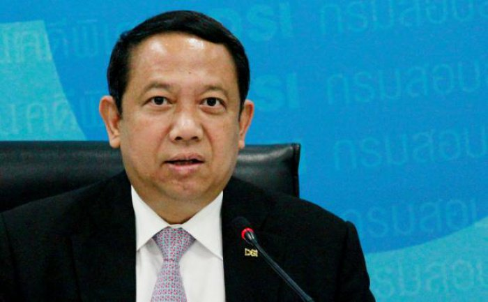 Ex-DSI chief Tarit Pengdith hit with assets freeze | The Thaiger