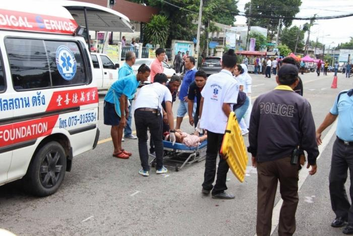 Bomb wounds eight in downtown Trang | The Thaiger