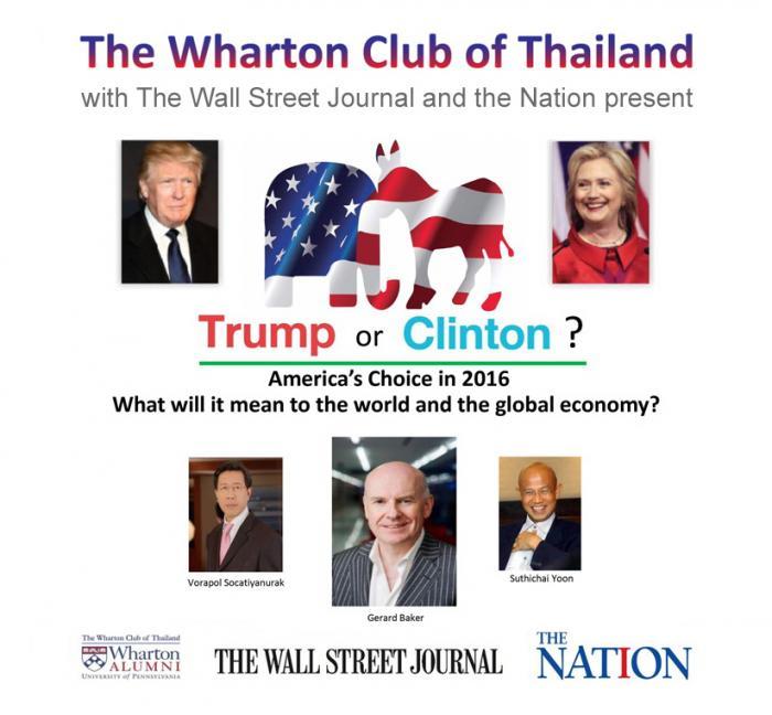 Trump or Clinton?   The Thaiger