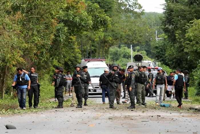 Bomb attacks in south ahead of vote | The Thaiger
