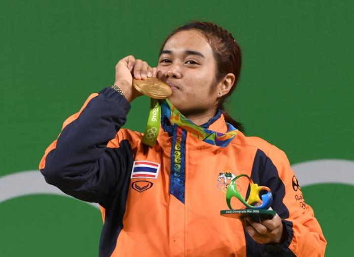 Thai weightlifter wins first gold at Rio Olympics | The Thaiger