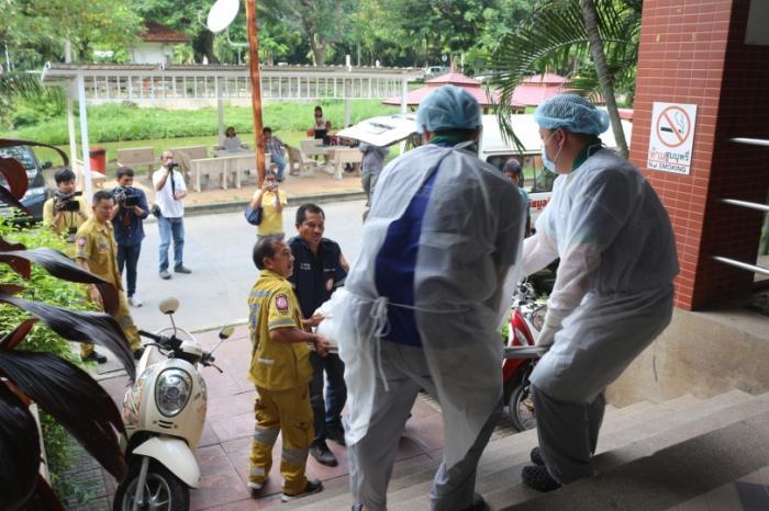 Victim of Bangkok gang may be elderly European | The Thaiger