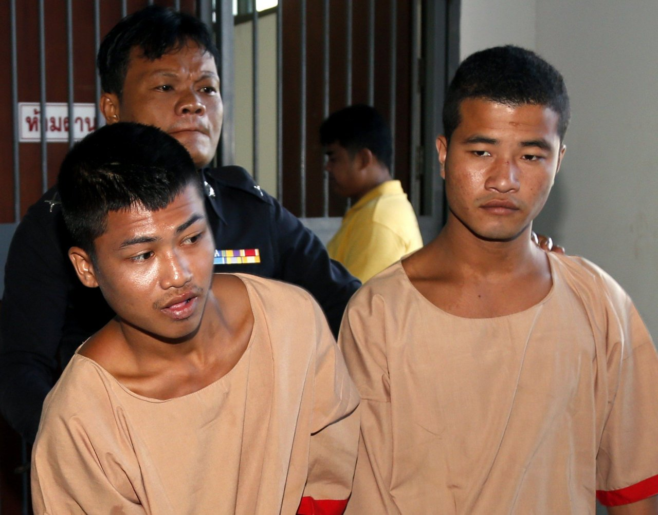 Myanmar men appeal death sentences for murders of Britons in Thailand