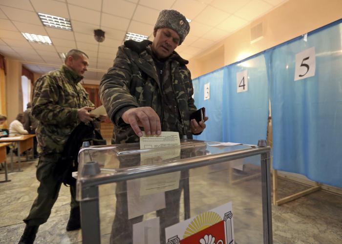 Phuket Gazette World News: Crimeans vote over 90 percent to quit Ukraine for Russia   Thaiger