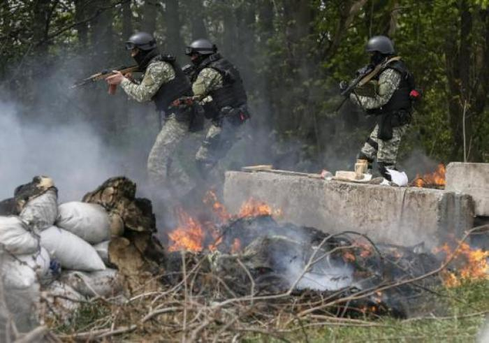 Ukraine forces kill up to five rebels; Russia starts drill near border | Thaiger