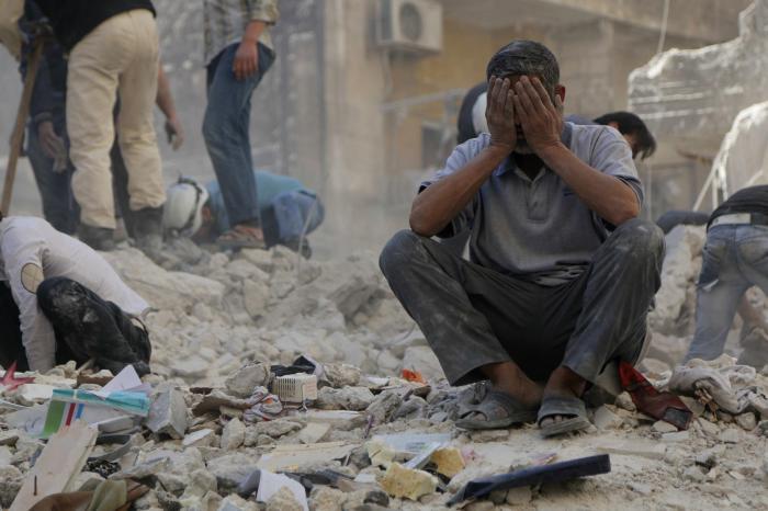 Air strike on Aleppo school kills 18   Thaiger