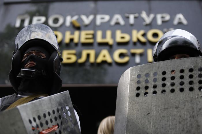 Pro-Russians storm prosecutor's office in Ukraine's Donetsk   Thaiger