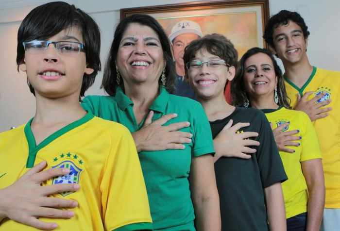 Brazilian family cross extra fingers for sixth World Cup | The Thaiger