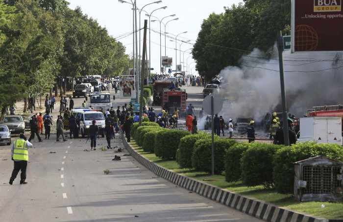 Nigerian capital shopping district blast leaves 21 dead | The Thaiger