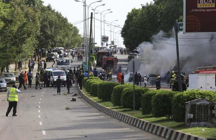 Nigerian capital shopping district blast leaves 21 dead | Thaiger