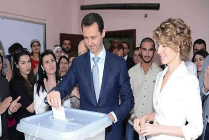 Assad declared landslide victor in wartime Syrian election   Thaiger