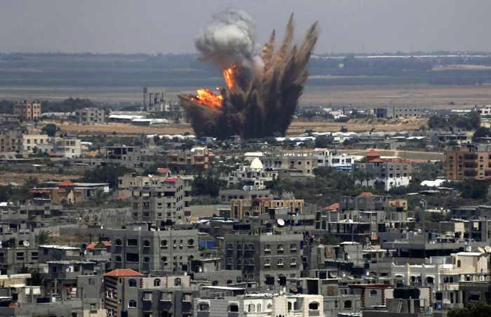 Gaza dead reach 78 as Israelis hint at invasion | Thaiger