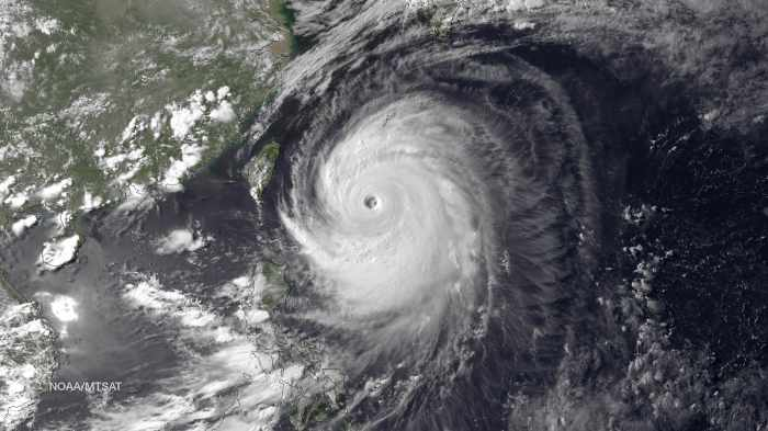 Typhoon churns towards Japan, prompting calls to evacuate | Thaiger