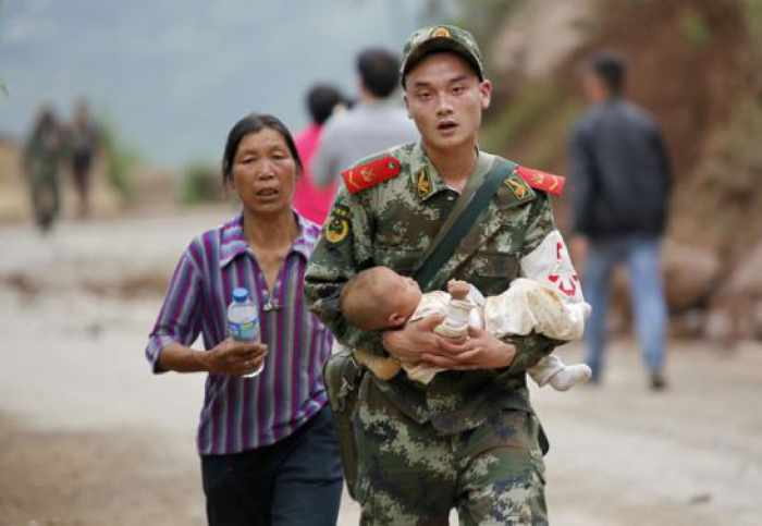 At least 367 dead after quake hits southwest China   The Thaiger