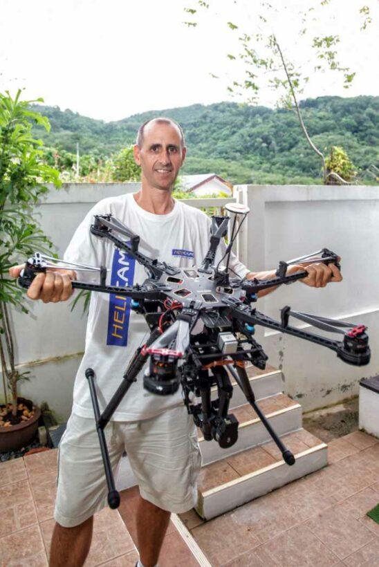 Phuket entrepreneur takes to the skies | The Thaiger